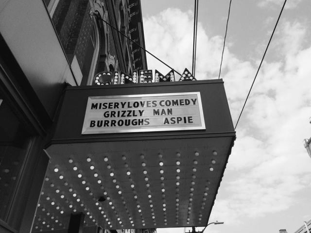 Aspie Seeks Love on the marquee for Rowhouse Cinema's Documentary Week.