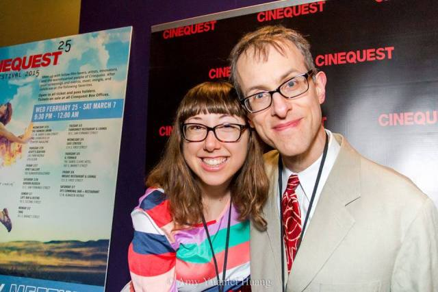 Director and Star at Cinequest for the World Premiere. We won Best Doc!