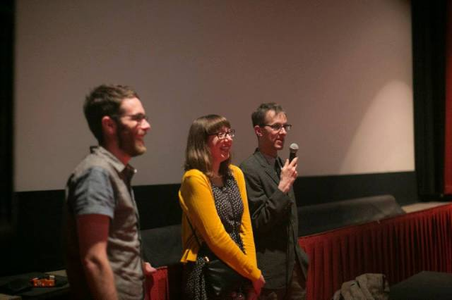 Q&A with cast and crew at our sold-out hometown premiere.