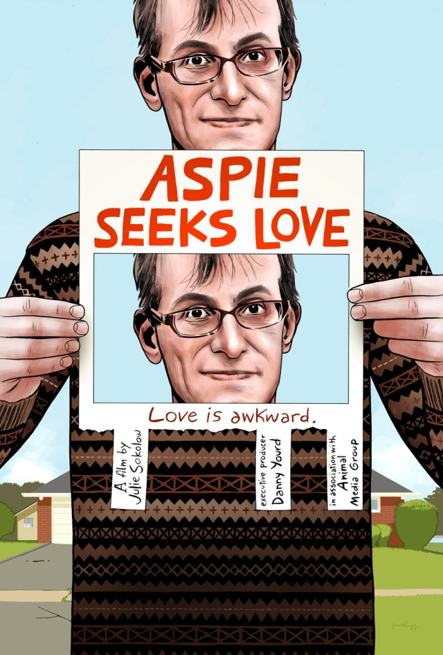 Aspie Seeks Love poster by Jim Rugg